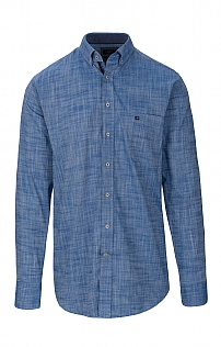 Baileys Plain Linen Look Shirt