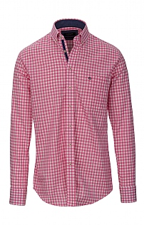 Baileys Check Linen Look Shirt