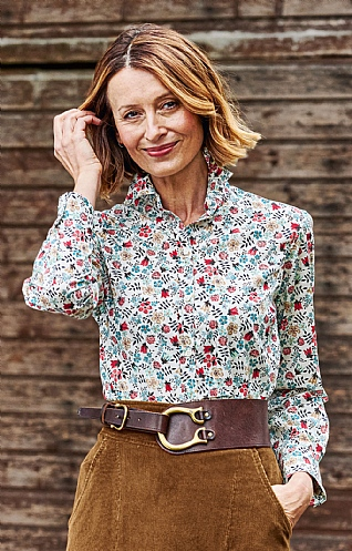 Liberty Print Cotton Lawn Blouse