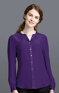 Ladies Open Neck Blouse
