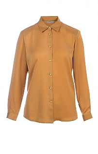 Ladies Country Satin Effect Blouse