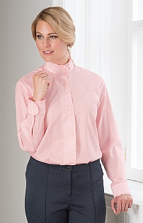 Cotton Frill Shirt