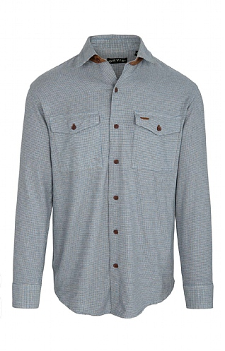 Orvis Heathered Houndstooth Shirt