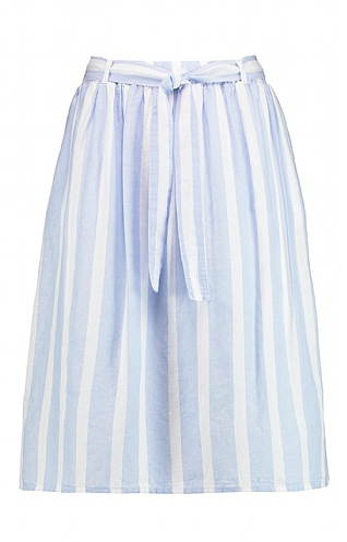 Gerry Weber Stripe Linen Skirt