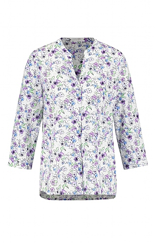Gerry Weber Pansy Print Blouse