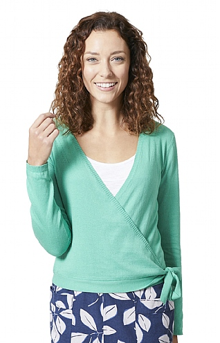 Lily & Me Pointelle Ballerina Cardigan