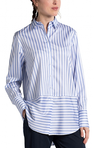 Eterna Stripe Two Way Shirt