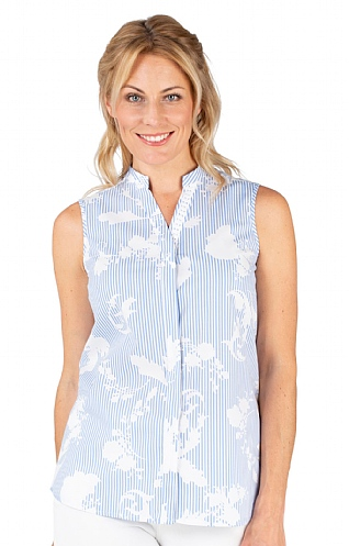 Laura Sleeveless Shirt