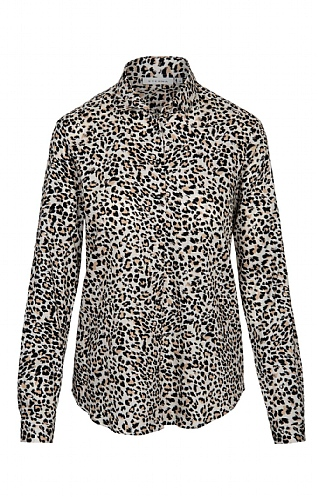 Eterna Animal Print Shirt