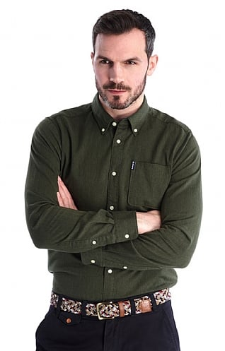 Barbour Herringbone 1 Tailored Shirt
