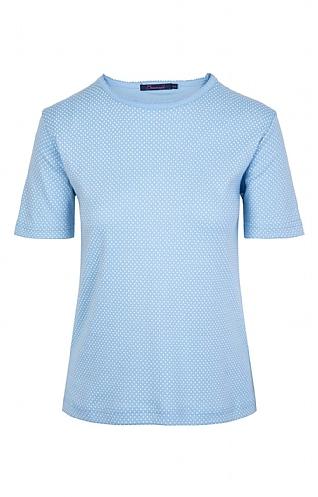 House Of Bruar Ladies Spot T-Shirt