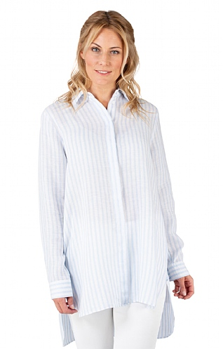 Seidensticker Long Stripe Shirt
