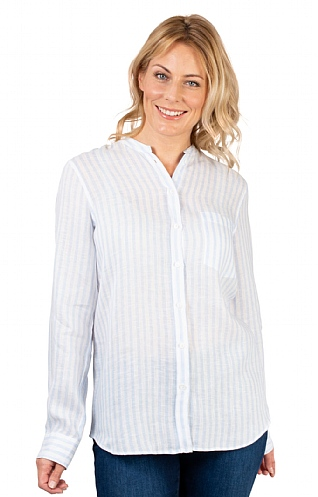 0b0015f9208528 Ladies Seidensticker Linen Shirt - House of Bruar