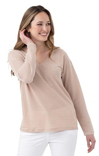 House Of Bruar Ladies V-Neck T-Shirt