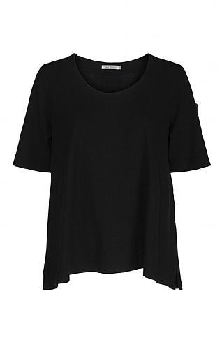 Ladies Two Danes Heide T-Shirt - Black