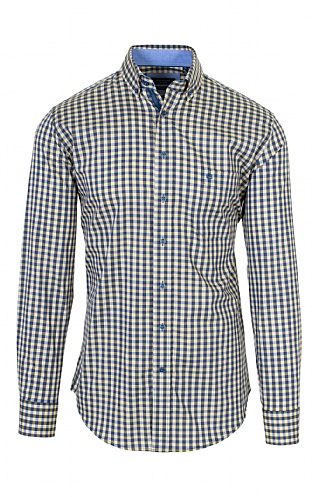 Men's Three Colour Gingham Shirt