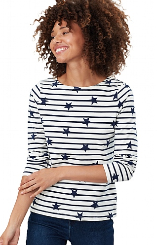 Joules Harbour Luxe Long Sleeve Top