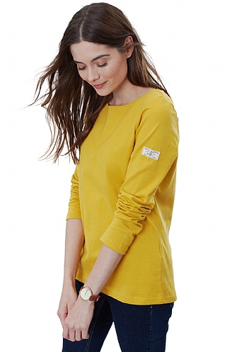 Joules Harbour Solid Long Sleeve Top
