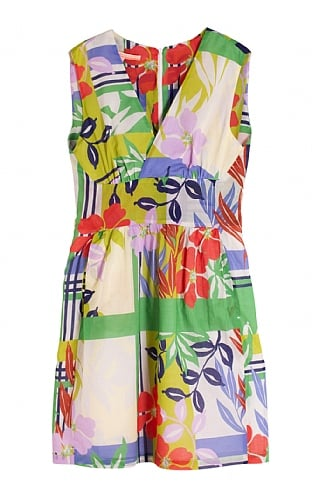 Vilagallo Sleeveless Print Dress