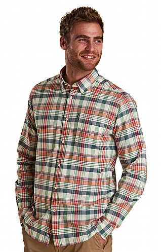 Barbour Madras Two Tailored Shirt