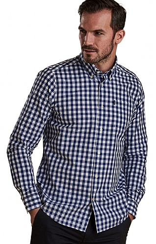 Barbour Gingham Three Tailored Shirt