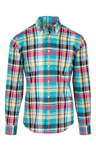 Barbour Madras Two Regular Shirt