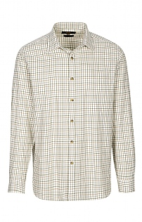 Viyella Cotton/Wool Blend Tattersall Shirt