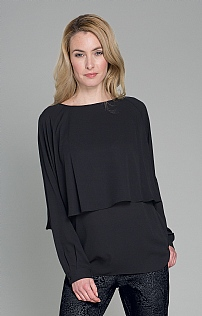 Seidensticker Layered Crepe Blouse