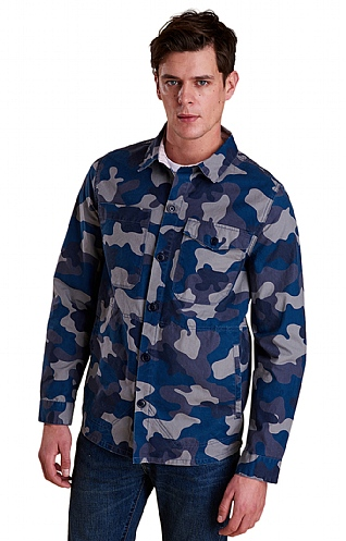 Barbour Camo Button-Thru