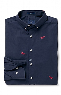Gant Embroidered Lobster Shirt