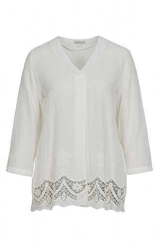 Erfo Embroidered Smock