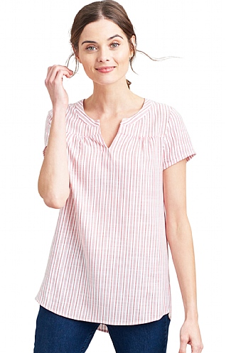 Joules Gemma Short Sleeved Top