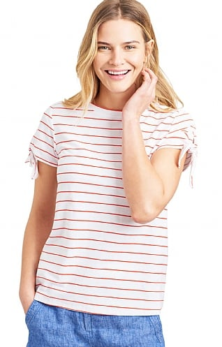 Joules Tiggy Tie Sleeve Top