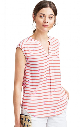 Joules Jae Sleeveless Top