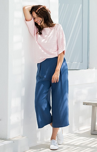 Marble Tencel Trousers