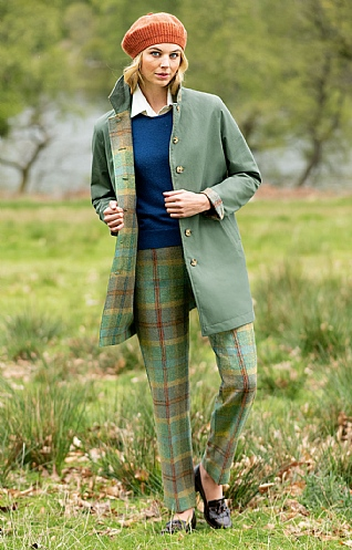 Ladies Tweed Trousers