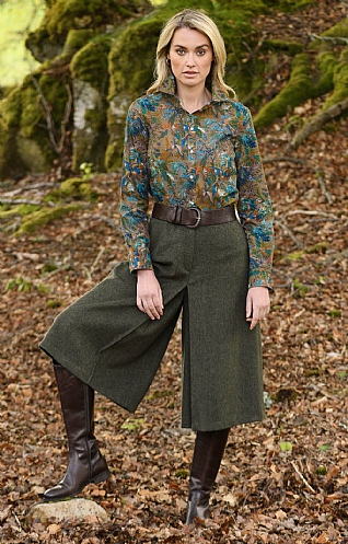 Loden Tapered Culottes
