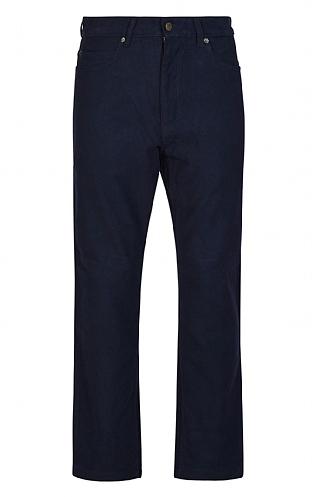 Dolby Moleskin Jeans - Navy Blue
