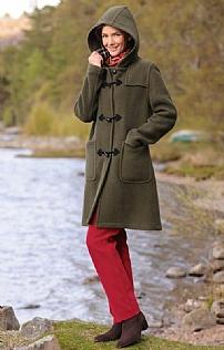 House of Bruar Ladies Moleskin Jeans - Garnet red