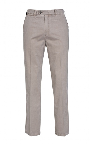 Sulphur Washed Cotton Chino Trousers