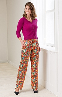 Liberty Silk Trousers