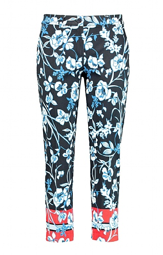 Gerry Weber Print Crop Trousers