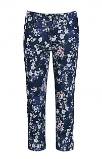 Robell Print Trousers