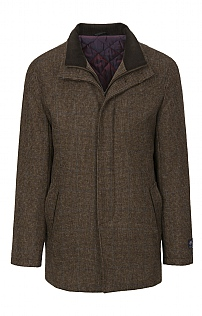 Douglas & Grahame Tweed Harlow Overcoat