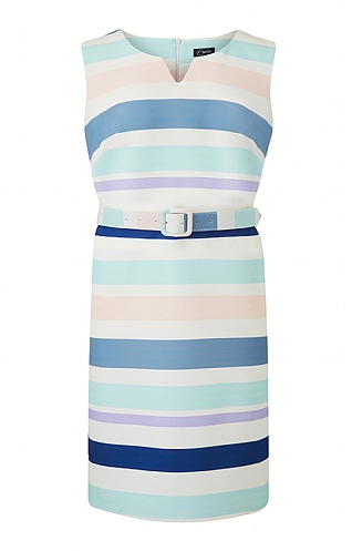 Emreco Chalfont Sleeveless Stripe Dress