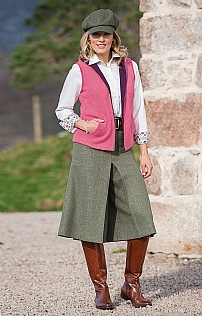Ladies Tweed Culottes