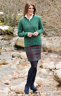 Ladies Harris Tweed Straight Skirt