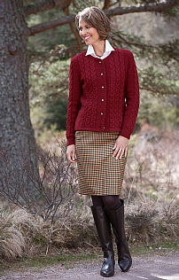 Plaid Classic Skirt