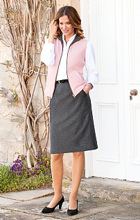 Ladies Classic Flannel Skirt