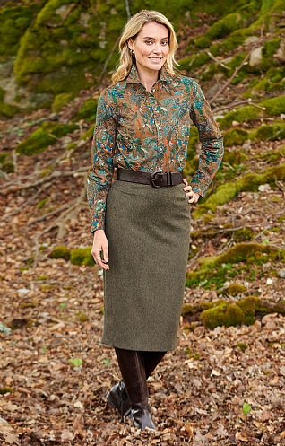 Ladies Pencil Skirt